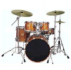 Der Standardaufbau eines Schlagzeuges