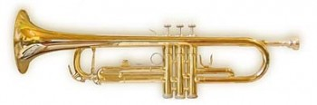 Trompete mit Ventilen