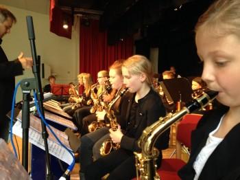 Der Saxophonsatz der Minis 2