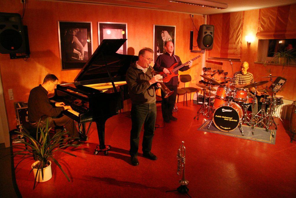 Public Rehearsal Jazz Quartet kelm
